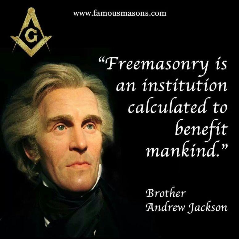 Andrew Jackson Freemason