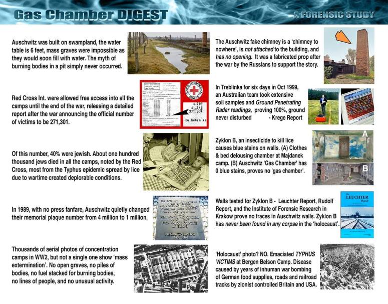!Gas chamber digest – full evidence