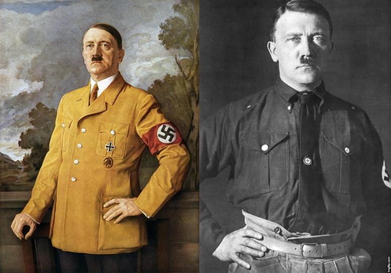 Hitler marrano collage