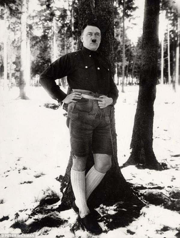 Hitler shorts marrano claw