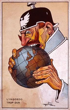 Kaiser Wilhelm's greed