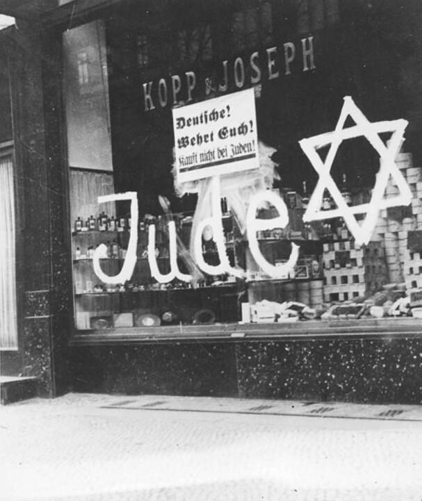 Nazi hexagram Jewish businesses